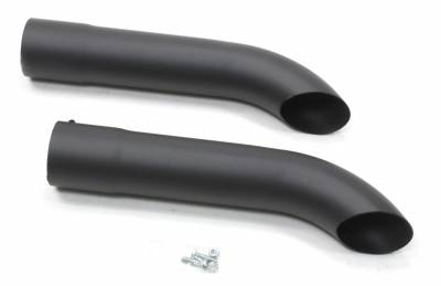 Patriot Exhaust Components - Patriot Exhaust Turn Outs - Patriot Exhaust Products - Side Tubes Turnout Muffler Blk