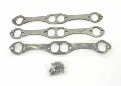Patriot Exhaust Components - Patriot Gaskets & Flanges - Patriot Exhaust Products - Hdr Flange Chev Oval/SS SBC