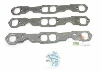 Patriot Exhaust Components - Patriot Gaskets & Flanges - Patriot Exhaust Products - Hdr Flange Chev Rect SBC