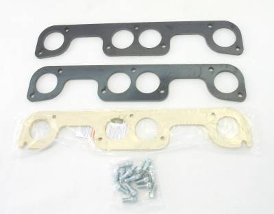 Patriot Exhaust Components - Patriot Gaskets & Flanges - Patriot Exhaust Products - Hdr Flange Chev Rd Port SBC Brodix