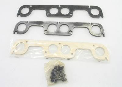 Patriot Exhaust Components - Patriot Gaskets & Flanges - Patriot Exhaust Products - Hdr Flange Chev Rd Port SBC