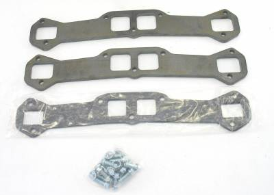 Patriot Exhaust Components - Patriot Gaskets & Flanges - Patriot Exhaust Products - Hdr Flange Chev Rect 409